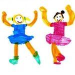 2分でできる、子供の書いた絵をオシャレに飾る方法